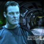 Anthony Straeger Gallery Mission Backup Earth Poster